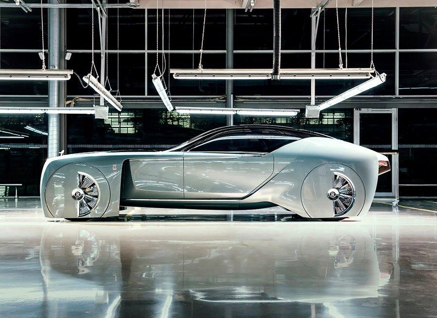 Rolls Royce Vision Next 100: el futuro del lujo sobre ruedas