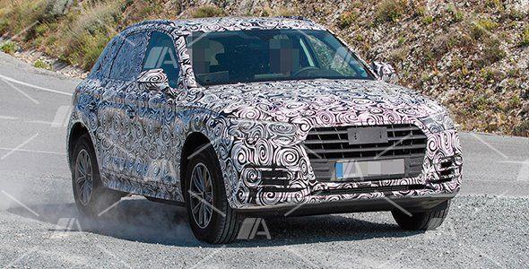 Fotos espía del nuevo Audi Q5