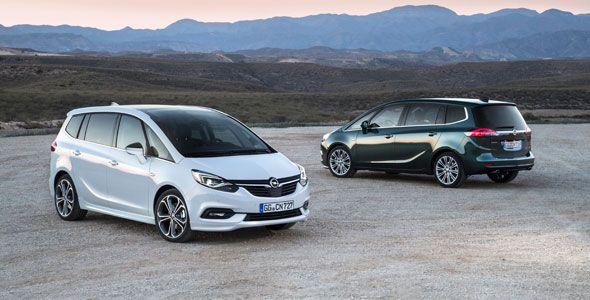 Primeras imágenes del nuevo Opel Zafira