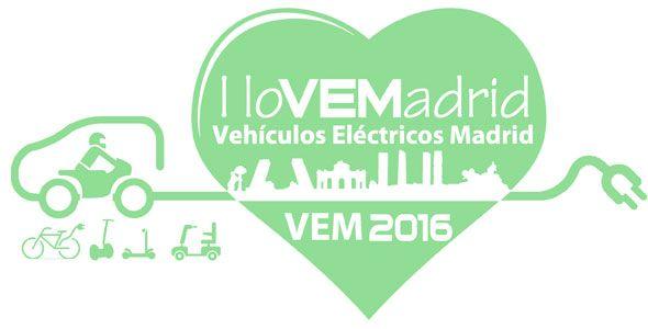 Coches eléctricos en Madrid, ¡todo sobre VEM 2016!