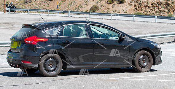 Nuevas fotos espía de la mula del nuevo Ford Focus 2019
