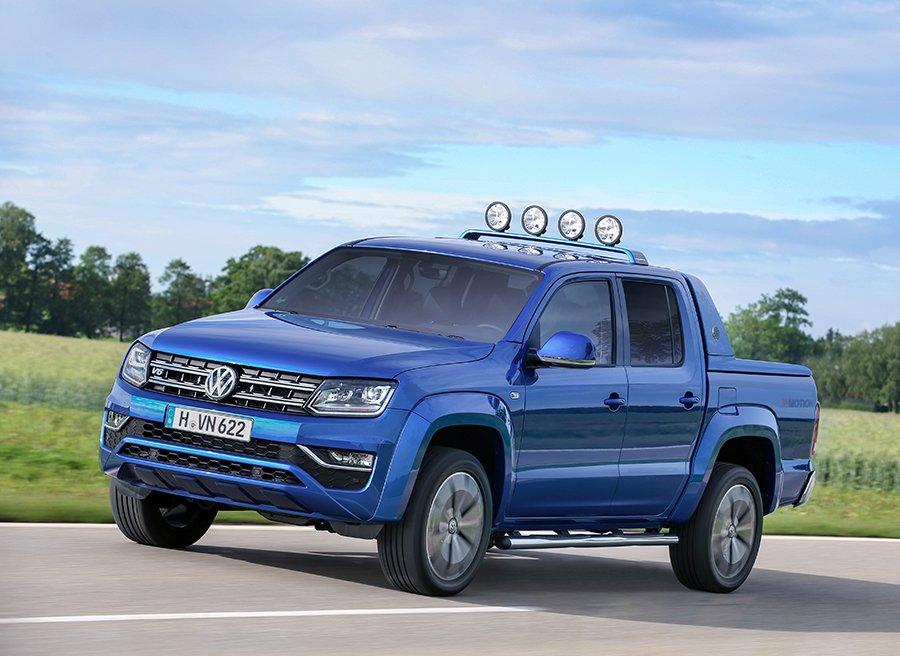 Nuevo Volkswagen Amarok Aventura 2016, el pick up premium