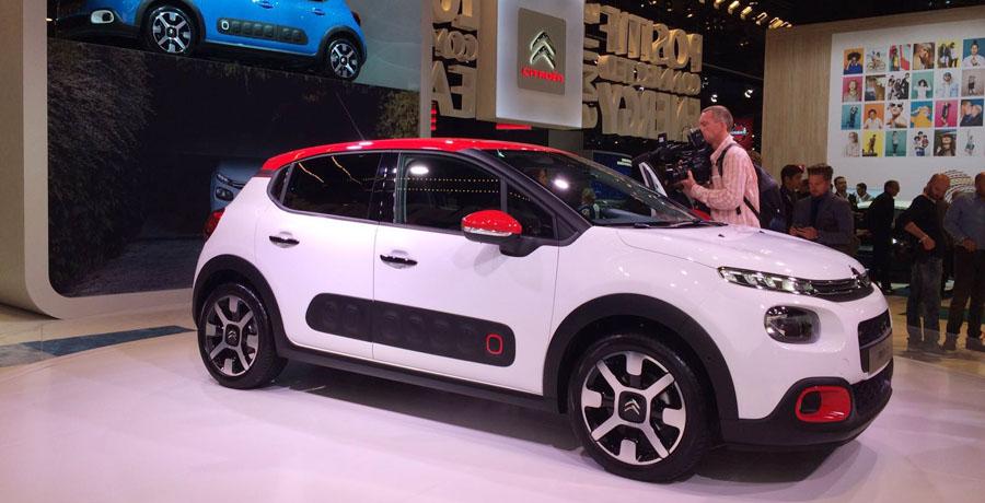 Citroën C3, un utilitario diferente en el Salón de París 2016