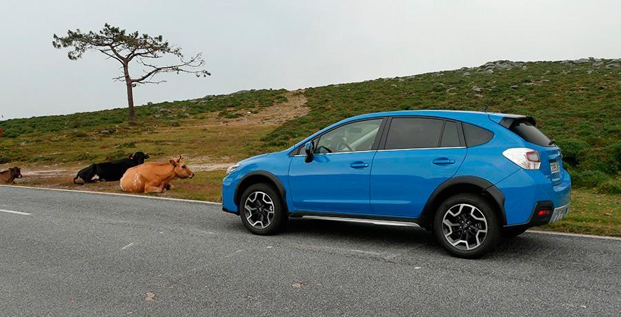 Prueba del Subaru XV 2.0 diésel 2016