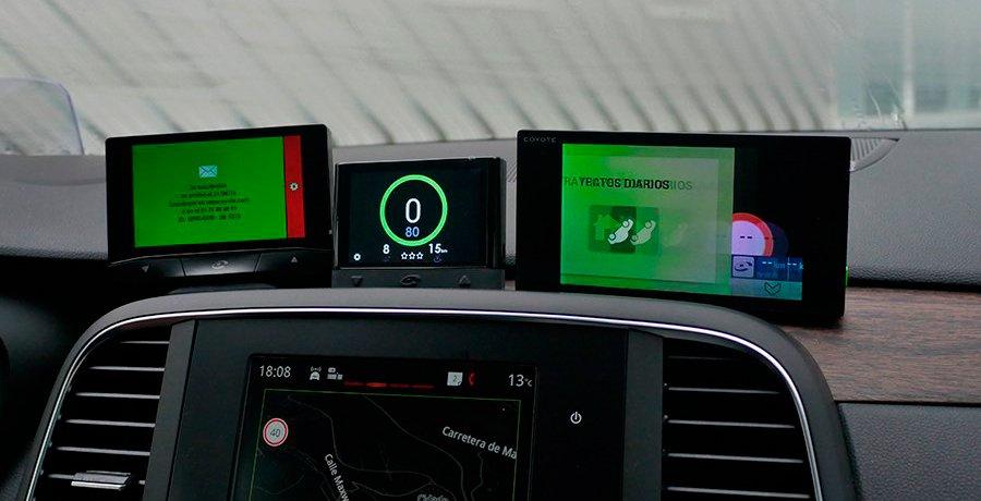 Actualización para los Coyote Mini y Coyote S con radares de cinturón