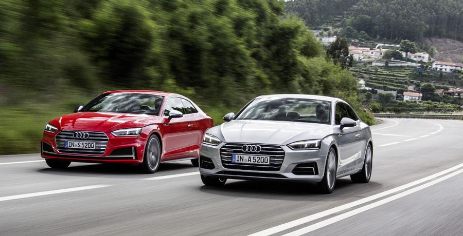 Ya están disponibles en España los nuevos Audi A5 y S5