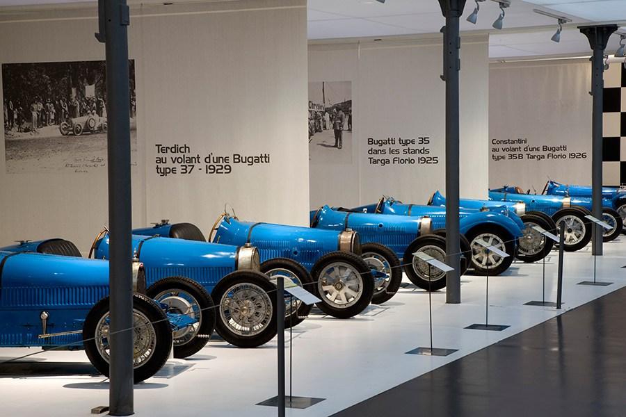 El Museo Schlumpf posee la mayor colección de Bugatti del mundo.