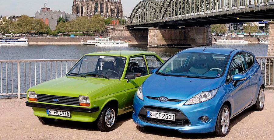 El Ford Fiesta cumple 40 años