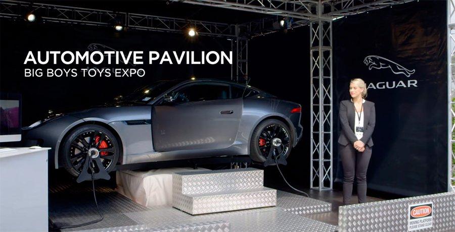 Jaguar crea el simulador de conducción más realista del mundo