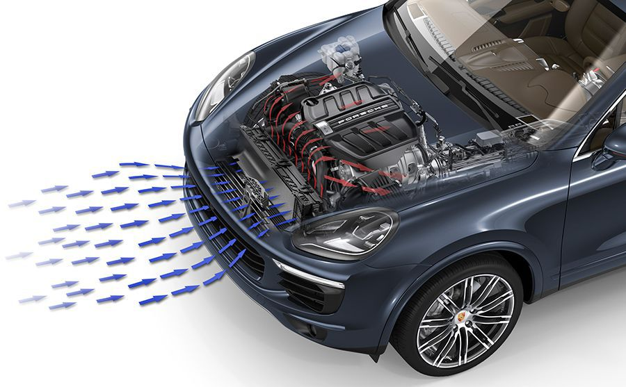 La tecnología del Porsche Cayenne S E-Hybrid de Le Mans