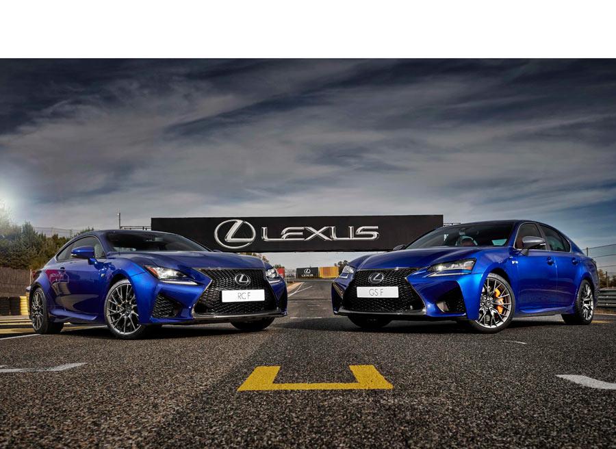 Los Lexus de la gama F, ahora con suspensión variable