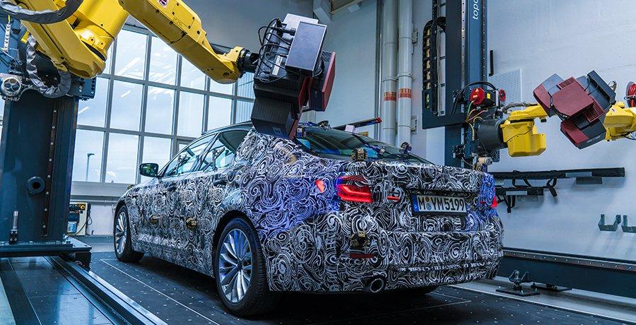 Modelo en 3D del nuevo BMW Serie 5 2017