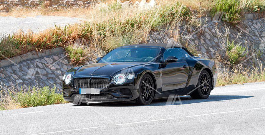 Fotos espía del nuevo Bentley Continental GTC 2018