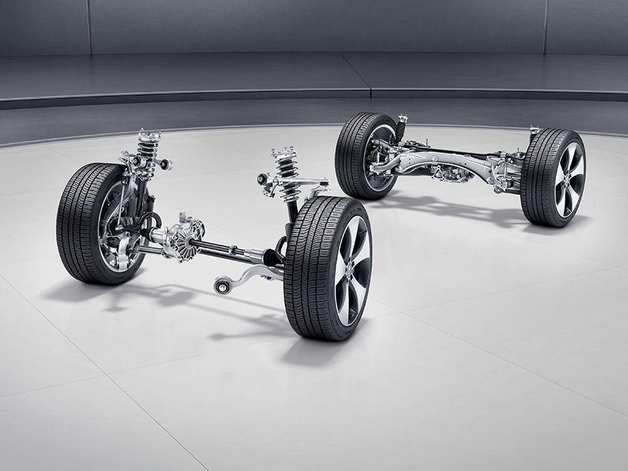 El Mercedes GLC Coupé tiene un chasis que apuesta por un comportamiento dinámico excelente, confortable y eficaz al tiempo.