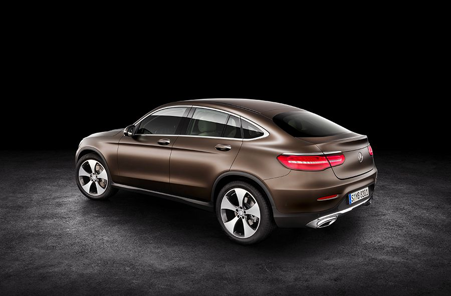 La gama del Mercedes GLC Coupé contará con 8 versiones.