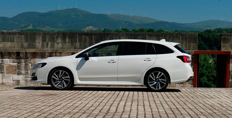 Prueba del Subaru Levorg 1.6 GT-S Lineartronic 2016