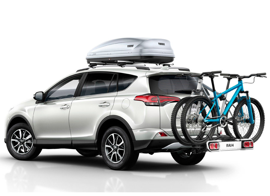 Nuevos accesorios originales Toyota, para RAV4 y RAV4 hybrid