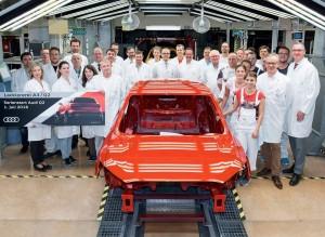 En Audi están orgullosos de fabricar su nuevo SUV pequeño Q2.