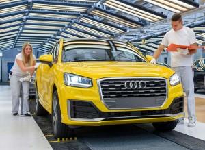 El Audi Q2 se fabrica en una de las mejores factorías del mundo.
