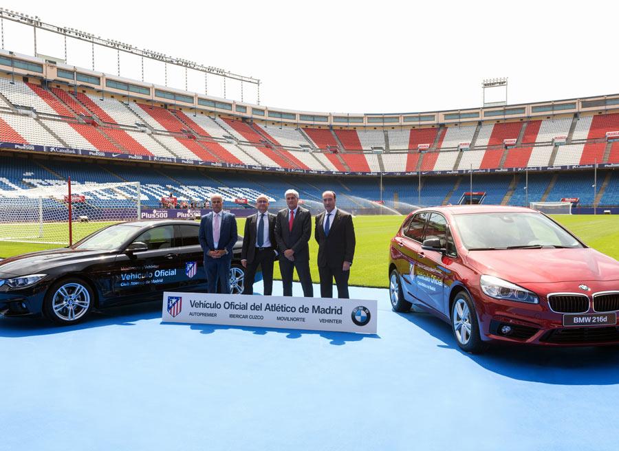 Este es el coche del Atlético de Madrid