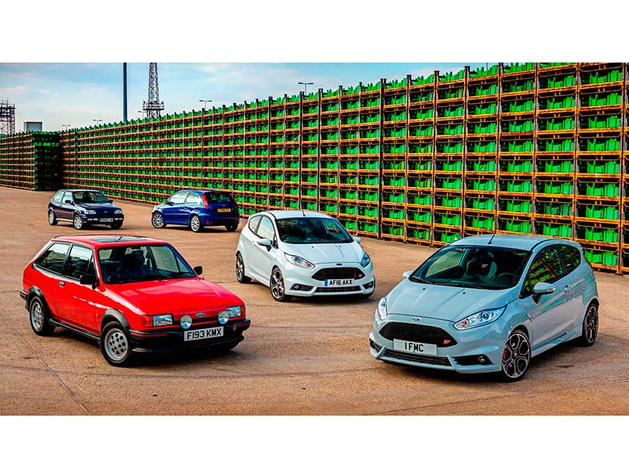 Ford Europa logra eliminar los residuos