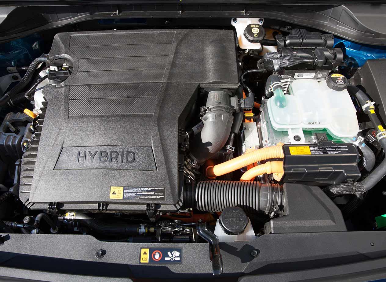 Junto al motor de combustión, el Kia Niro monta uno eléctrico.
