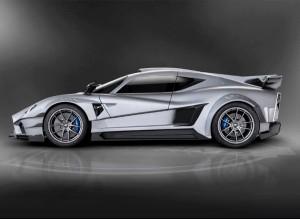 El Mazzanti Evantra tiene cambios en la aerodinámica para mejorar la estabilidad.
