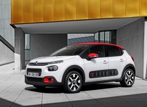 Las protecciones laterales del nuevo Citroën C3 son similares a las del Cactus.