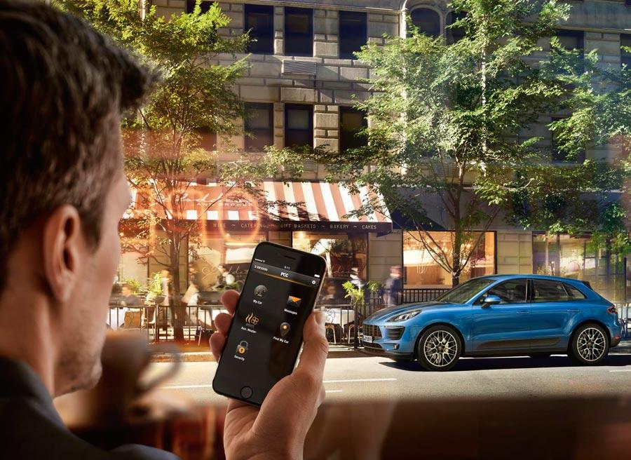 Conectados con Porsche Connect