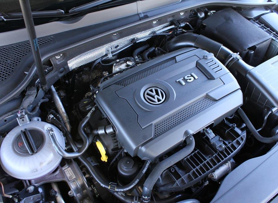 Destaca, el motor TSI, porque entrega la potencia máxima en un amplio rango de revoluciones.
