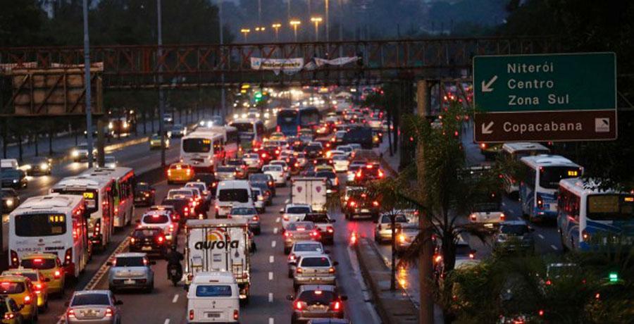 El tráfico en los Juegos Olímpicos de Río de Janeiro 2016