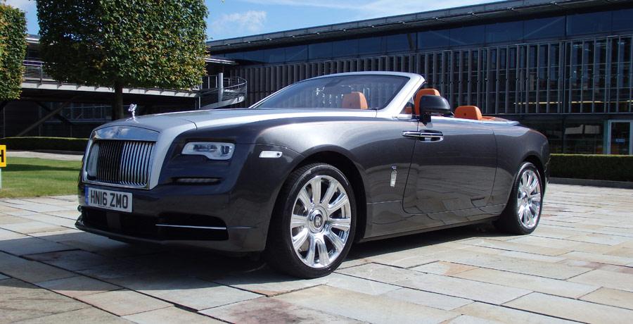 Probamos el Rolls-Royce Dawn: lujo a cielo descubierto