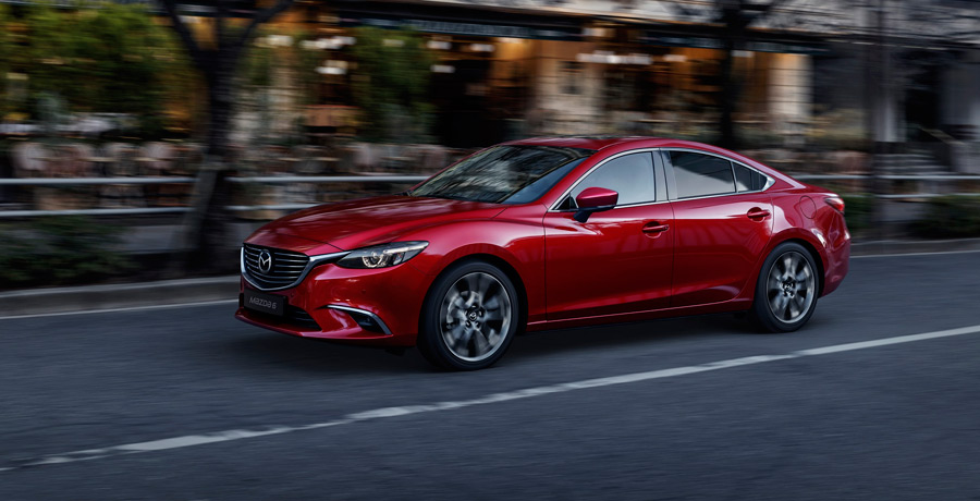 La actualización del Mazda6 llegará a Europa en otoño