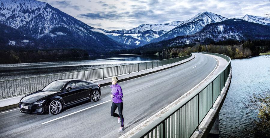 Audi apuesta por poner en forma a conductores y startups