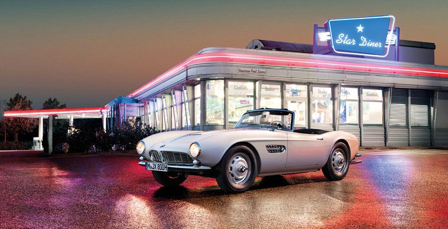 Restauran el BMW de Elvis Presley