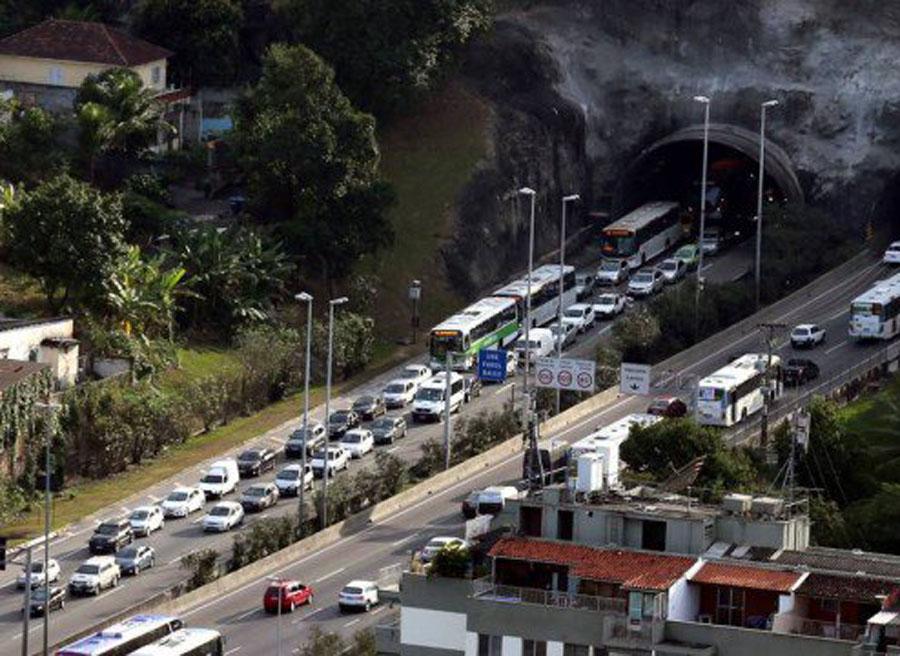 Embotellamiento JJ.OO Río de Janeiro (2)