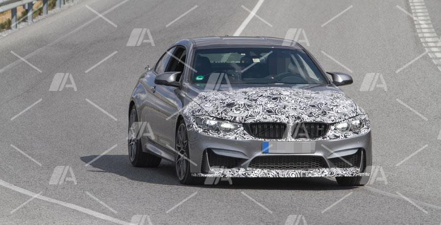 Fotos espía del BMW M4 Coupé 2017