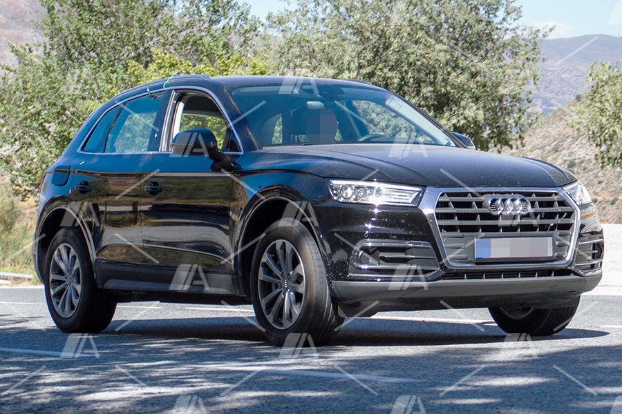 Nuevas fotos espía del Audi Q5 e-Tron 2017