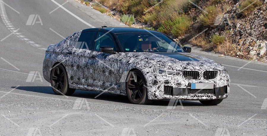 Fotos espía del BMW M5 2017