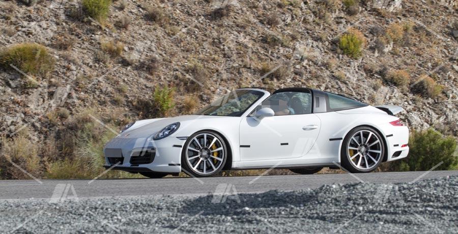 Fotos espía del Porsche 911 Targa 2017