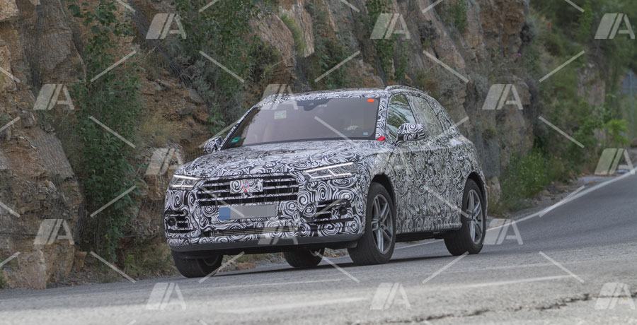 Fotos espía del nuevo Audi SQ5