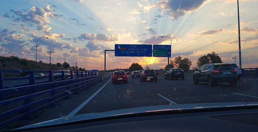 Operación salida del puente de agosto 2016