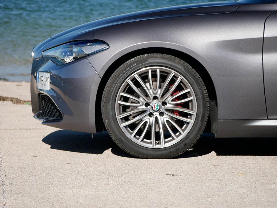 Prueba del Alfa Romeo Giulia Super 2.2 diésel 180 CV 2016