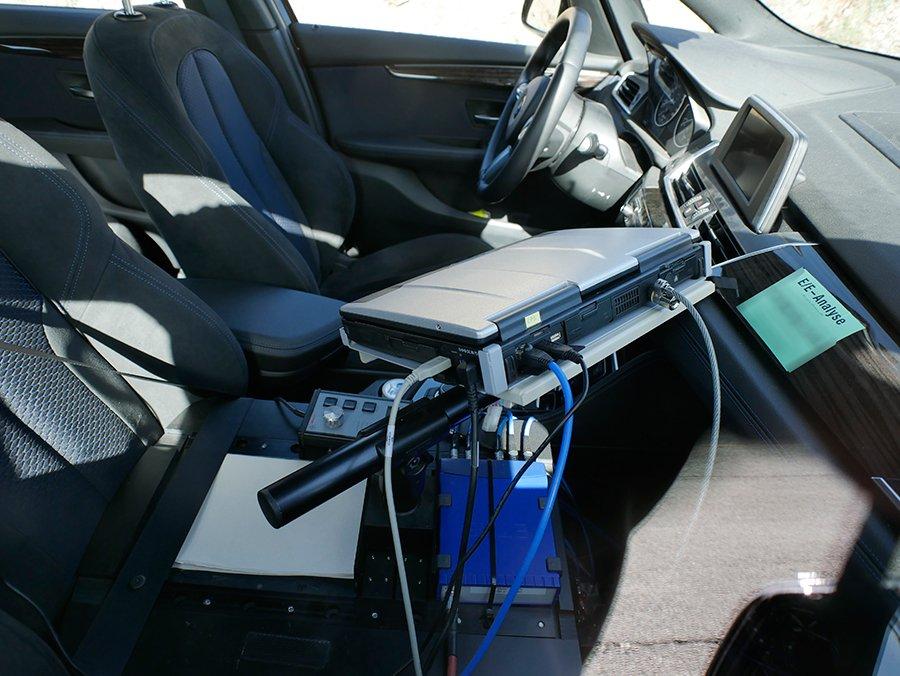 Qué prueban en los coches de las fotos espía 1