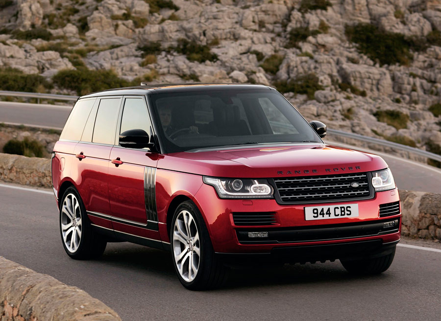 Range Rover SV Dynamic, rendimiento dinámico mejorado
