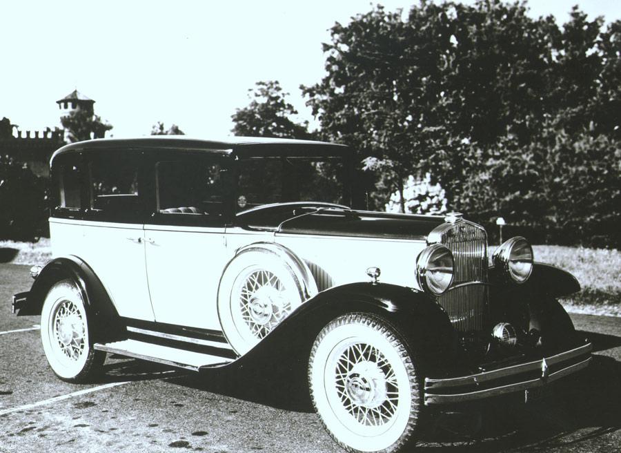 Coche berlina Fiat de 1931.