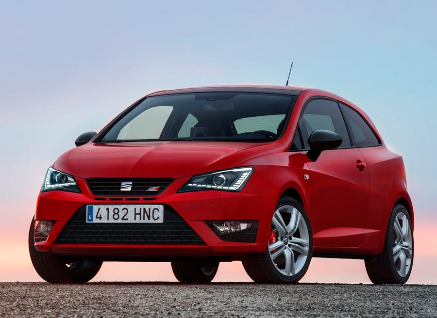 Con, por ejemplo, el Seat Ibiza Cupra, el coche utilitario se hace verdaderamente deportivo.
