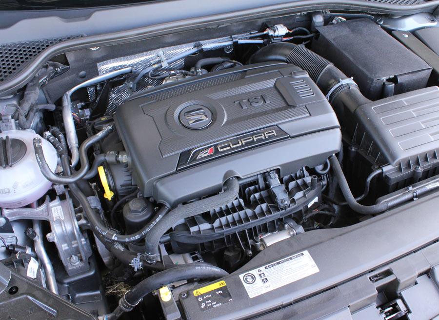 Con 290 CV, el motor es un delicia por suavidad y garra.