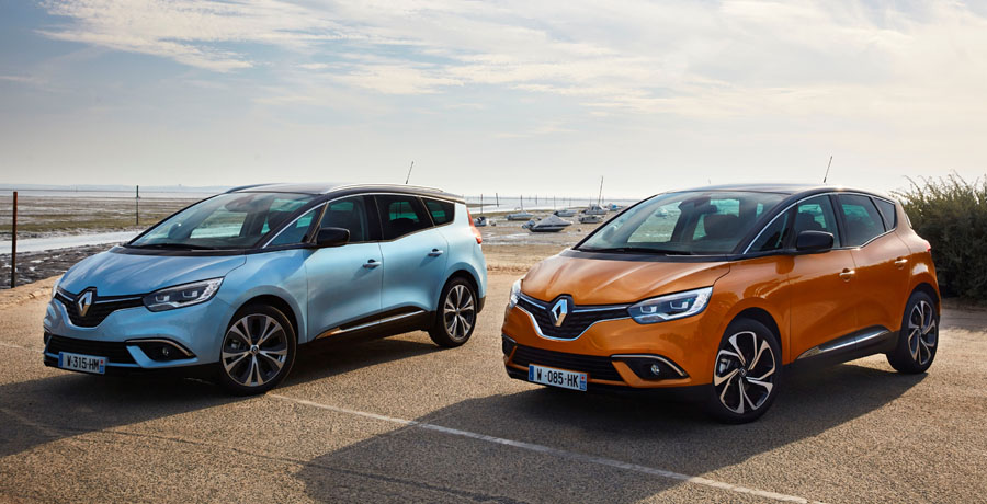 Nuevos Renault Scenic y Grand Scenic