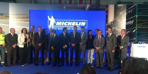 Michelin inaugura su nuevo almacén logístico en Illescas